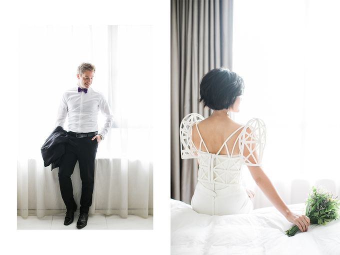 Andrea & Toby decided to do an intimate wedding with less than 50 guests. No bridesmaids/groomsmen, invitation or other details. They only had a brida by Foreveryday Photography - 018