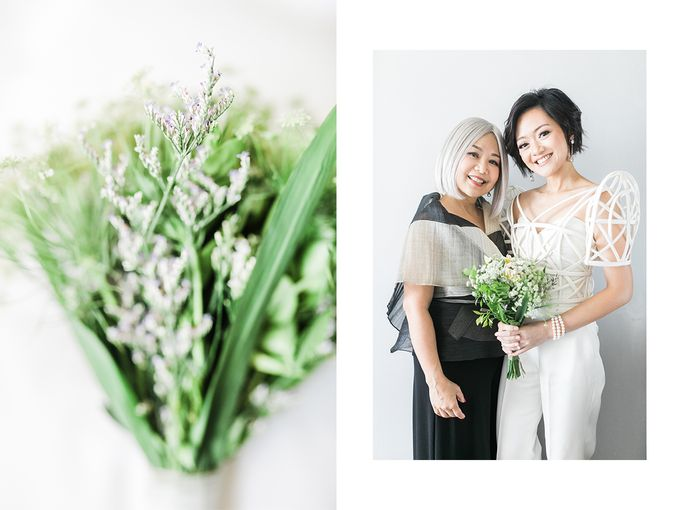 Andrea & Toby decided to do an intimate wedding with less than 50 guests. No bridesmaids/groomsmen, invitation or other details. They only had a brida by Foreveryday Photography - 026