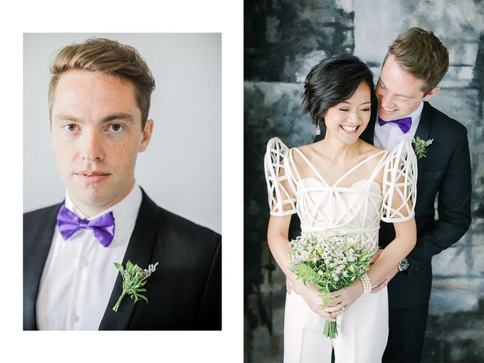 Andrea & Toby decided to do an intimate wedding with less than 50 guests. No bridesmaids/groomsmen, invitation or other details. They only had a brida by Foreveryday Photography - 035