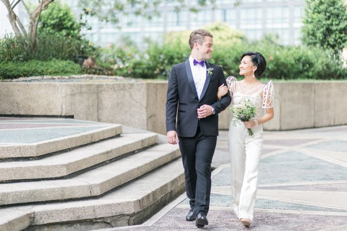 Andrea & Toby decided to do an intimate wedding with less than 50 guests. No bridesmaids/groomsmen, invitation or other details. They only had a brida by Foreveryday Photography - 036