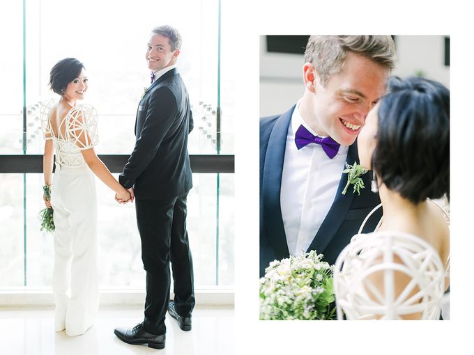 Andrea & Toby decided to do an intimate wedding with less than 50 guests. No bridesmaids/groomsmen, invitation or other details. They only had a brida by Foreveryday Photography - 037
