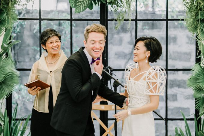 Andrea & Toby decided to do an intimate wedding with less than 50 guests. No bridesmaids/groomsmen, invitation or other details. They only had a brida by Foreveryday Photography - 039