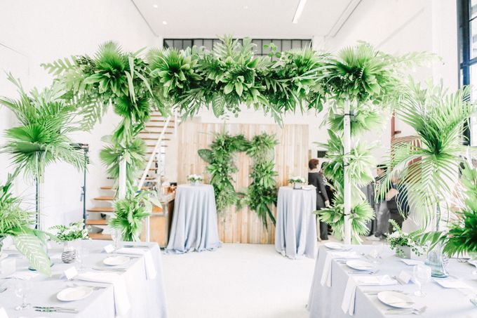 Andrea & Toby decided to do an intimate wedding with less than 50 guests. No bridesmaids/groomsmen, invitation or other details. They only had a brida by Foreveryday Photography - 012