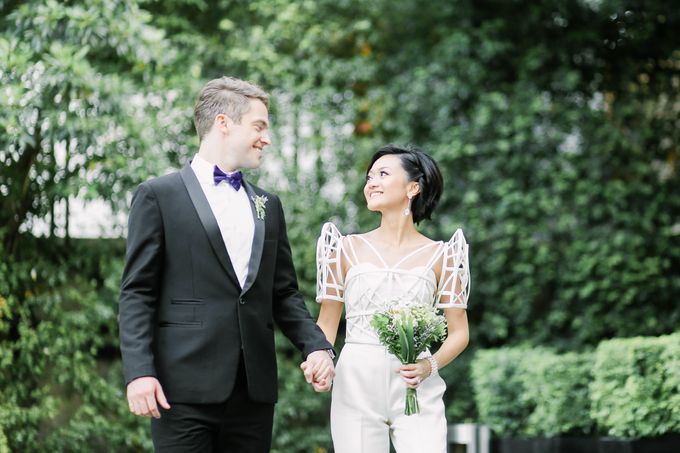 Andrea & Toby decided to do an intimate wedding with less than 50 guests. No bridesmaids/groomsmen, invitation or other details. They only had a brida by Foreveryday Photography - 044