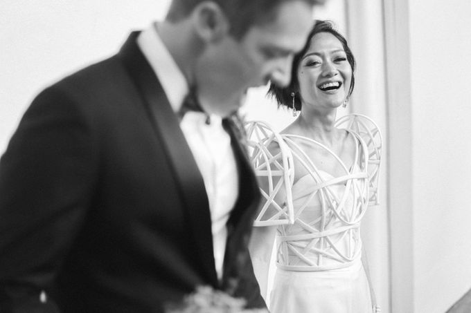 Andrea & Toby decided to do an intimate wedding with less than 50 guests. No bridesmaids/groomsmen, invitation or other details. They only had a brida by Foreveryday Photography - 014
