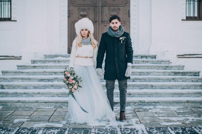 Wedding In Gzhel Style by Marina Nazarova Photographer - 041