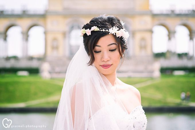 Pre-wedding photo session in Vienna by Grazmel Wedding Photography - 006