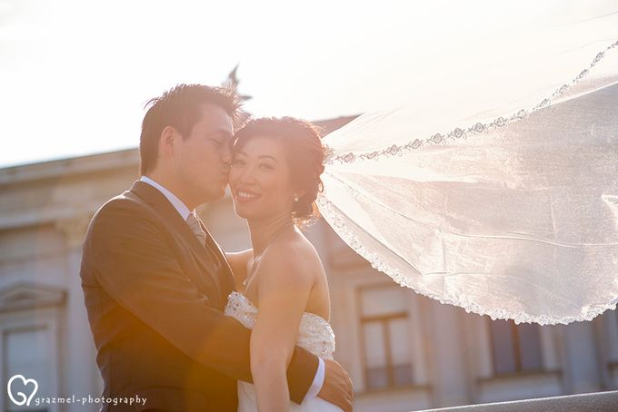 Pre-wedding photo session in Vienna by Grazmel Wedding Photography - 014