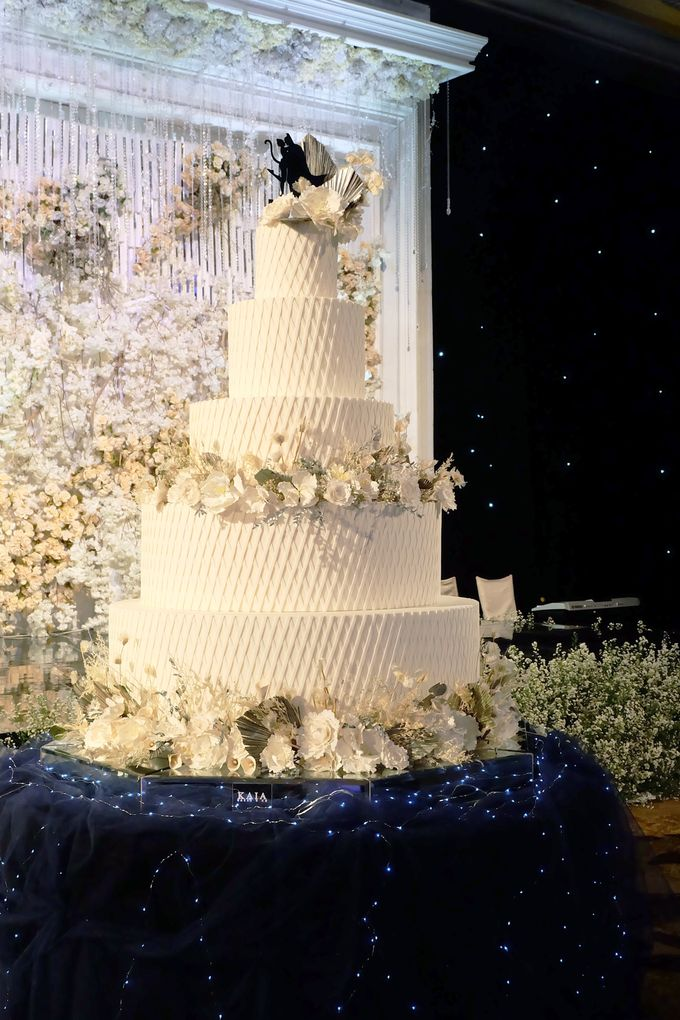 The Wedding of Kenny & Michelle by KAIA Cakes & Co. - 014