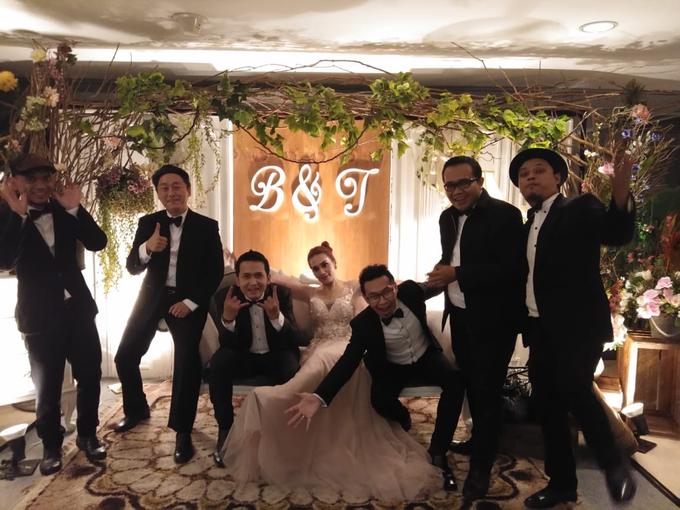 Music team at Bernard & Tresy wedding reception by Silver Box - 001