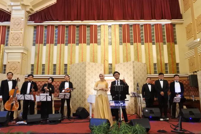 Music team for Afira & Rully wedding reception by Wijaya Music Entertainment - 001