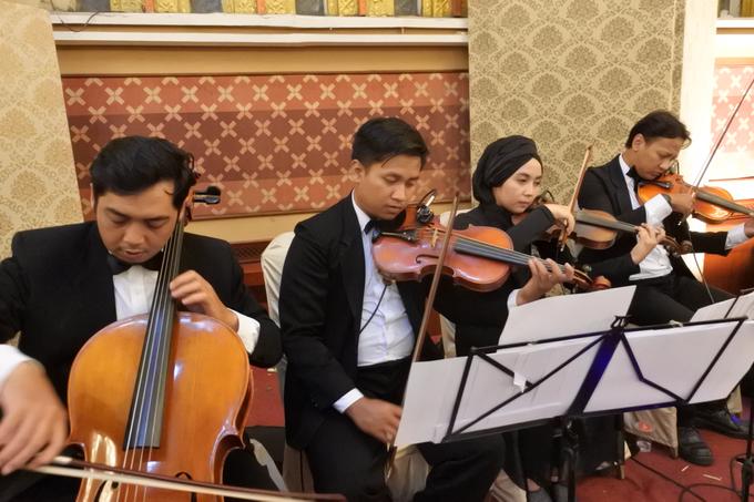Music team for Afira & Rully wedding reception by Wijaya Music Entertainment - 003