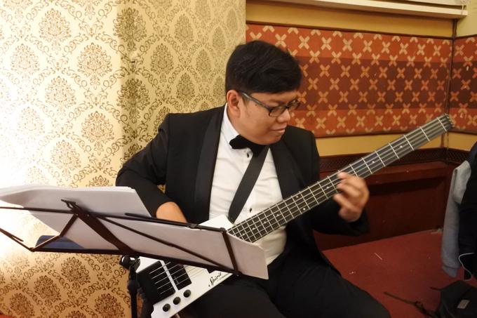 Music team for Afira & Rully wedding reception by Wijaya Music Entertainment - 004