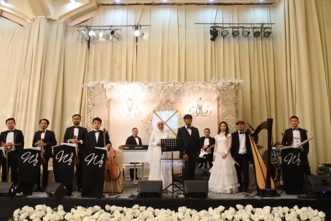 The wedding of Fina & Danial by Wijaya Music Entertainment - 001