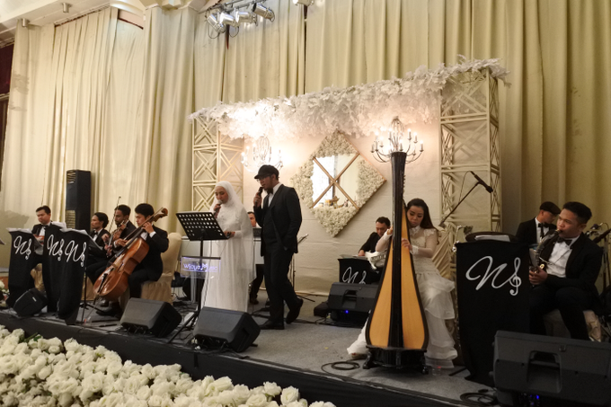 The wedding of Fina & Danial by Wijaya Music Entertainment - 005