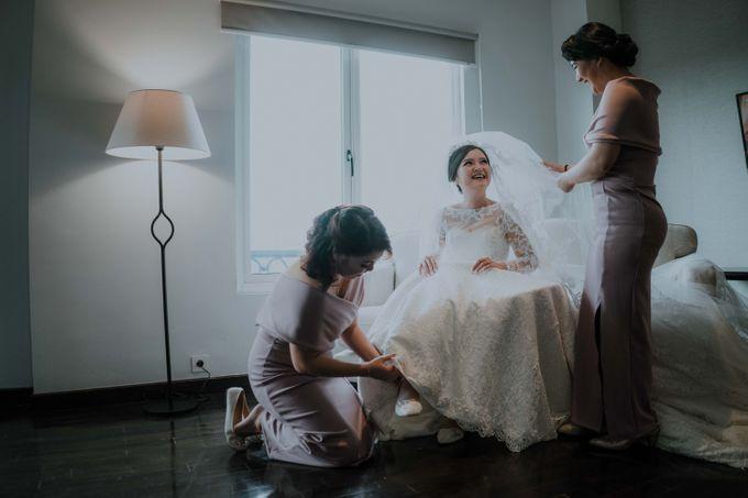 HANDOKO & CHERINE - WEDDING DAY by Winworks - 010