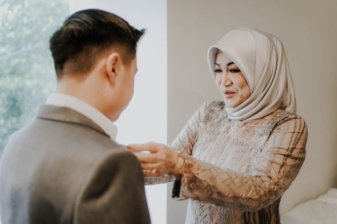 Blessing Ceremony of Ayu & Kevin (Akad Nikah) by William Saputra Photography - 014