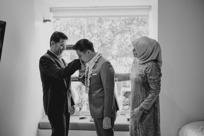 Blessing Ceremony of Ayu & Kevin (Akad Nikah) by William Saputra Photography - 017