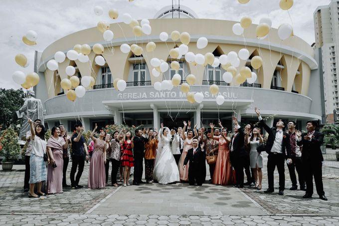 HANDOKO & CHERINE - WEDDING DAY by Winworks - 031