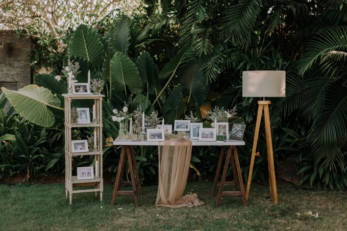 Gorgeously Romantic Bali Villa Wedding of William & Amelia by fire, wood & earth - 030