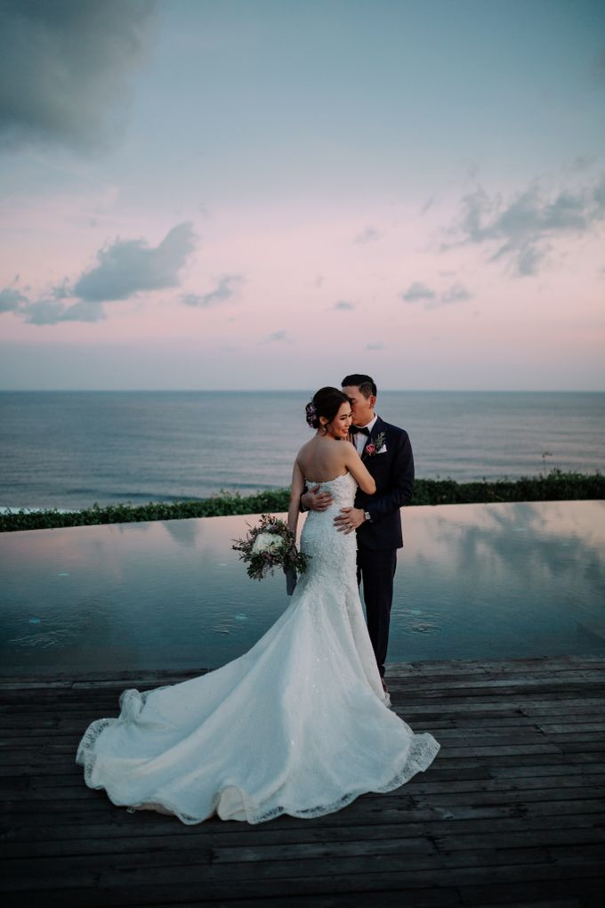 Gorgeously Romantic Bali Villa Wedding of William & Amelia by fire, wood & earth - 041