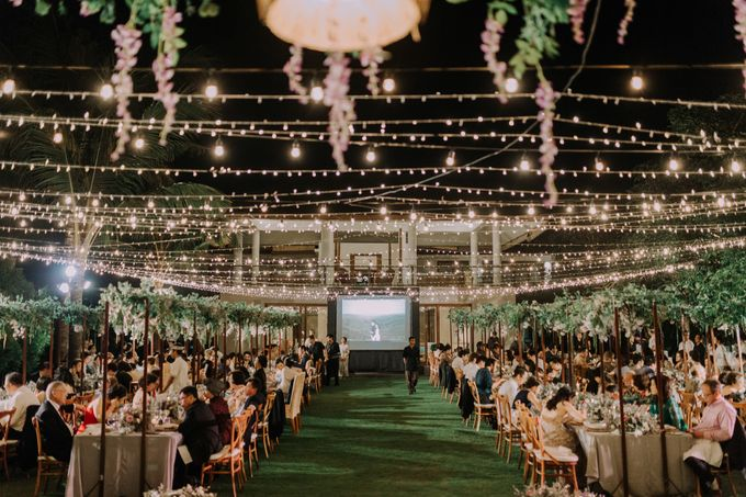 Gorgeously Romantic Bali Villa Wedding of William & Amelia by fire, wood & earth - 044