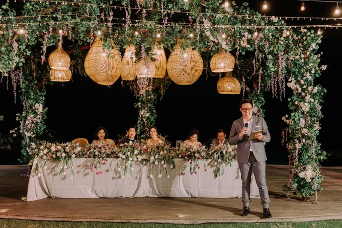 Gorgeously Romantic Bali Villa Wedding of William & Amelia by fire, wood & earth - 046