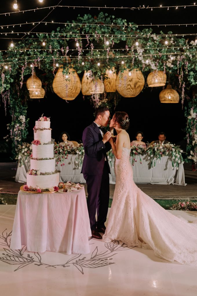Gorgeously Romantic Bali Villa Wedding of William & Amelia by fire, wood & earth - 047