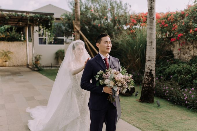 Gorgeously Romantic Bali Villa Wedding of William & Amelia by fire, wood & earth - 014