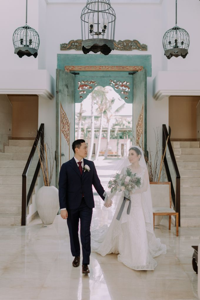 Gorgeously Romantic Bali Villa Wedding of William & Amelia by fire, wood & earth - 016