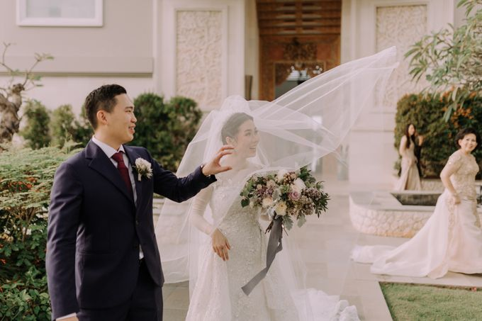 Gorgeously Romantic Bali Villa Wedding of William & Amelia by fire, wood & earth - 017