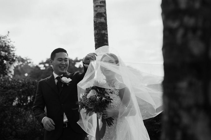 Gorgeously Romantic Bali Villa Wedding of William & Amelia by fire, wood & earth - 018