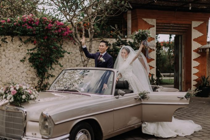 Gorgeously Romantic Bali Villa Wedding of William & Amelia by fire, wood & earth - 022