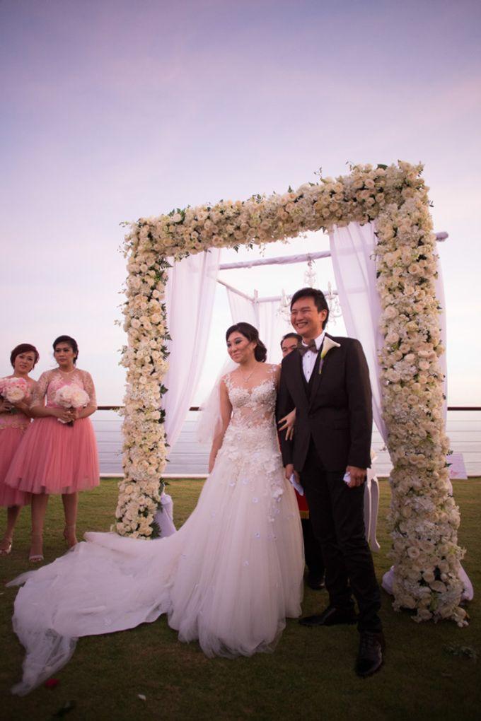 Viani & Gunawan Bali Wedding by Cynthia Kusuma - 002