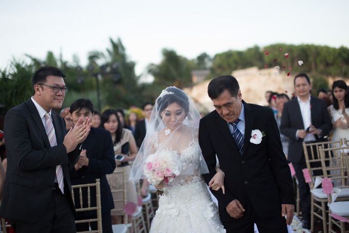 Viani & Gunawan Bali Wedding by Cynthia Kusuma - 003