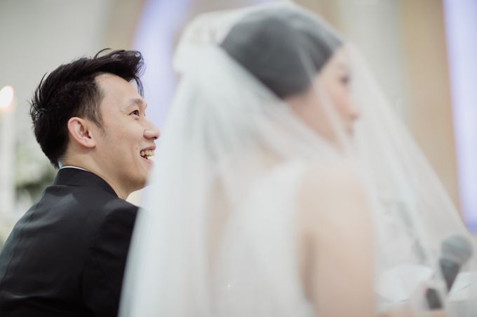 Raymond & Leonie Wedding Day by Wong Hang Distinguished Tailor - 015