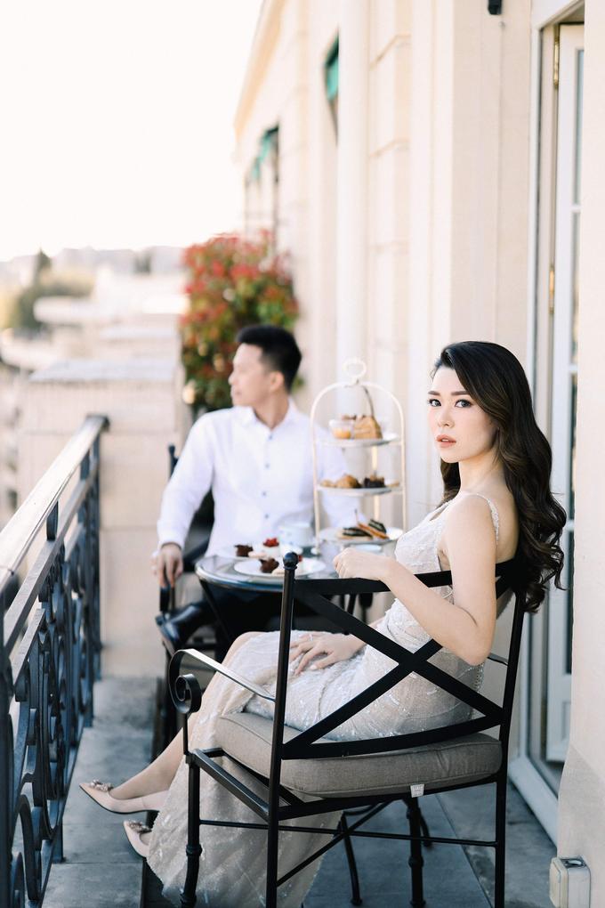 Ryan & Dewi wedding (Wedding in Paris) by Winnie Neuman Make up Artist - 017