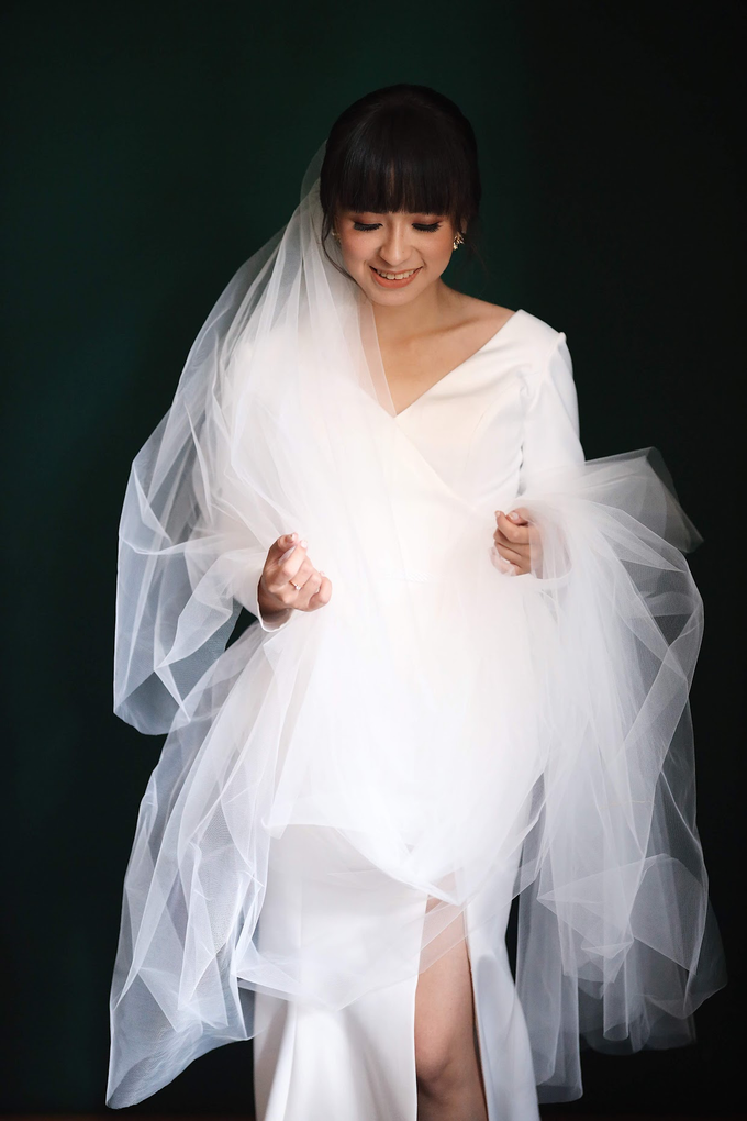 Sandy & Debby Wedding by Winnie Neuman Make up Artist - 022