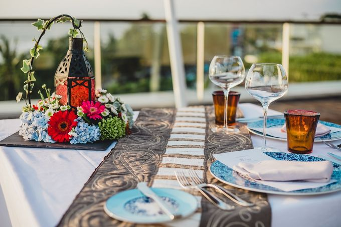 Chris & Jade Proposal Dinner by Sheraton Bali Kuta Resort - 004
