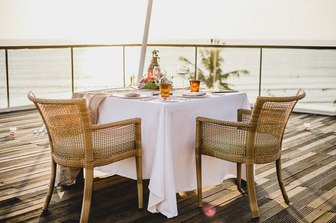 Chris & Jade Proposal Dinner by Sheraton Bali Kuta Resort - 005