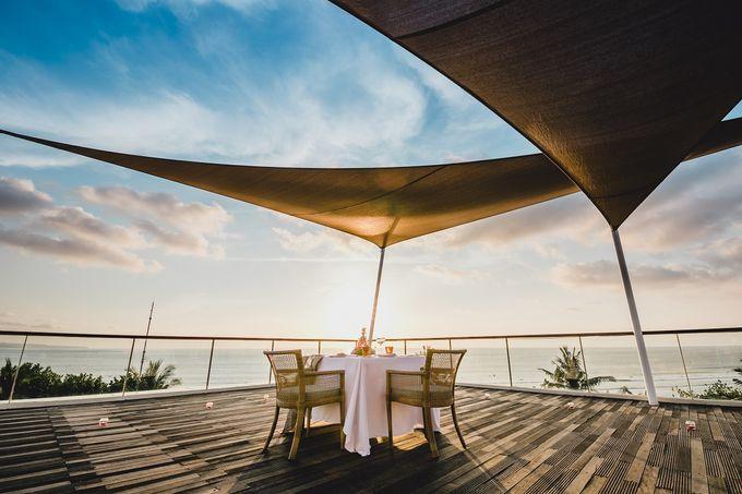 Chris & Jade Proposal Dinner by Sheraton Bali Kuta Resort - 006
