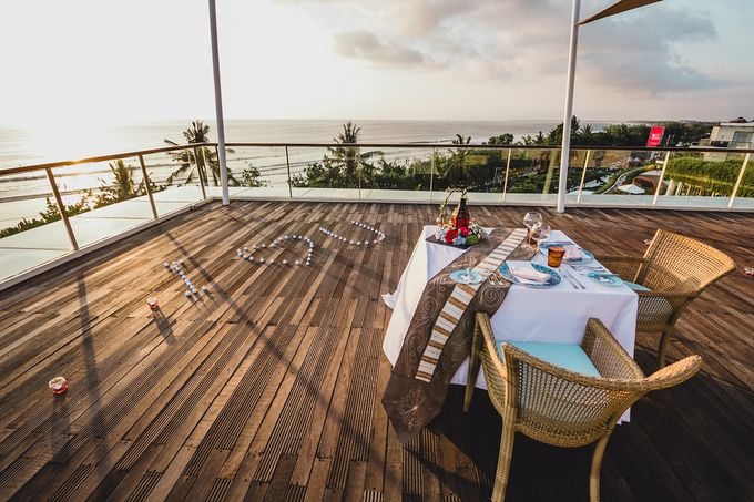 Chris & Jade Proposal Dinner by Sheraton Bali Kuta Resort - 007