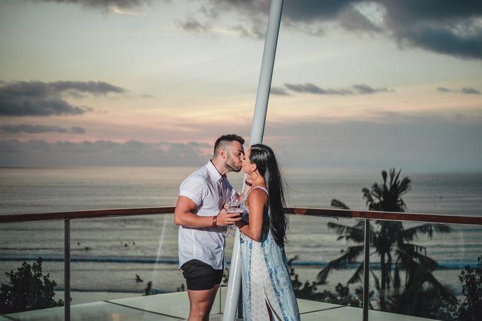 Chris & Jade Proposal Dinner by Sheraton Bali Kuta Resort - 010