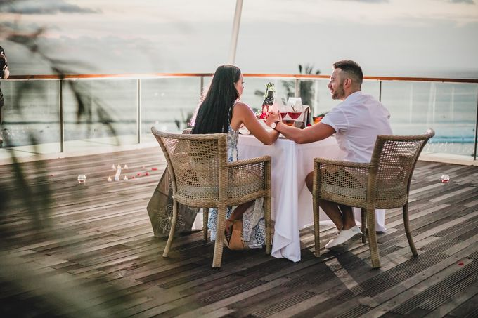 Chris & Jade Proposal Dinner by Sheraton Bali Kuta Resort - 011