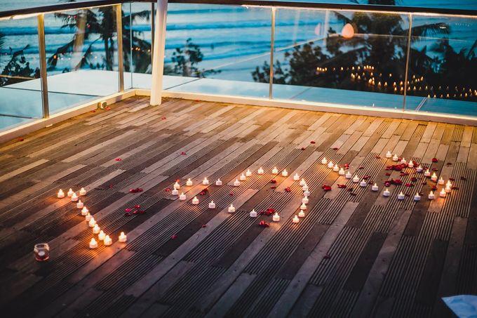 Chris & Jade Proposal Dinner by Sheraton Bali Kuta Resort - 012