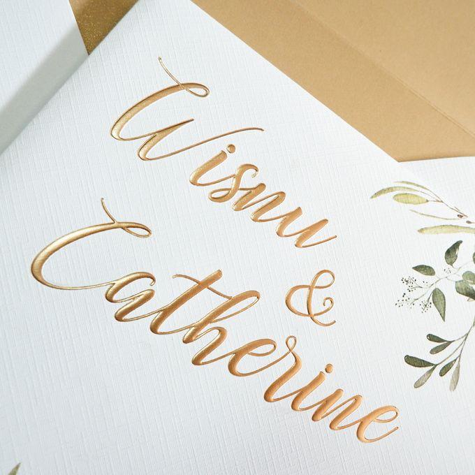Wisnu & Catherine by Meltiq Invitation - 001