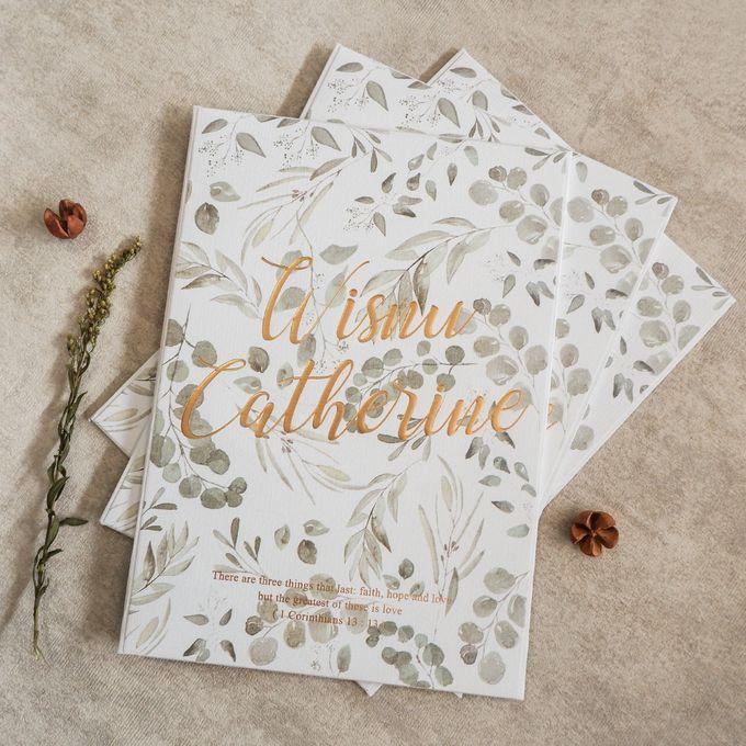 Wisnu & Catherine by Meltiq Invitation - 002