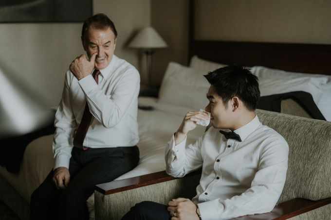 Preparation of Welton & Jessica by Wong Hang Distinguished Tailor - 003