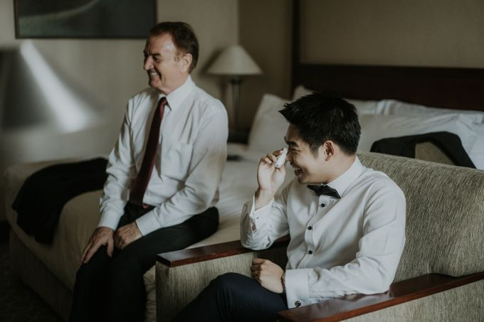 Preparation of Welton & Jessica by Wong Hang Distinguished Tailor - 004