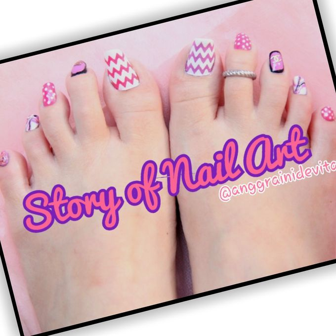 Painting Nails by Story of Nailart - 026